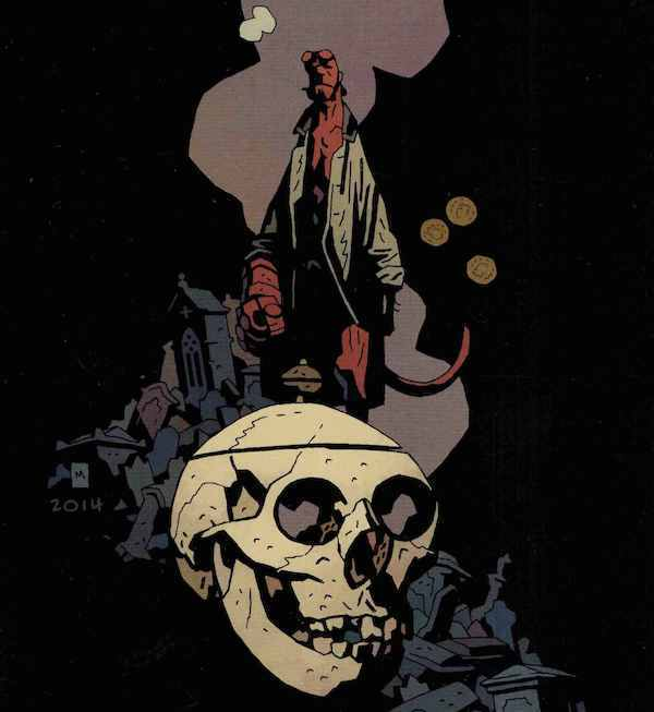 Hellboy creator Mike Mignola talks about returning to drawing comics and more