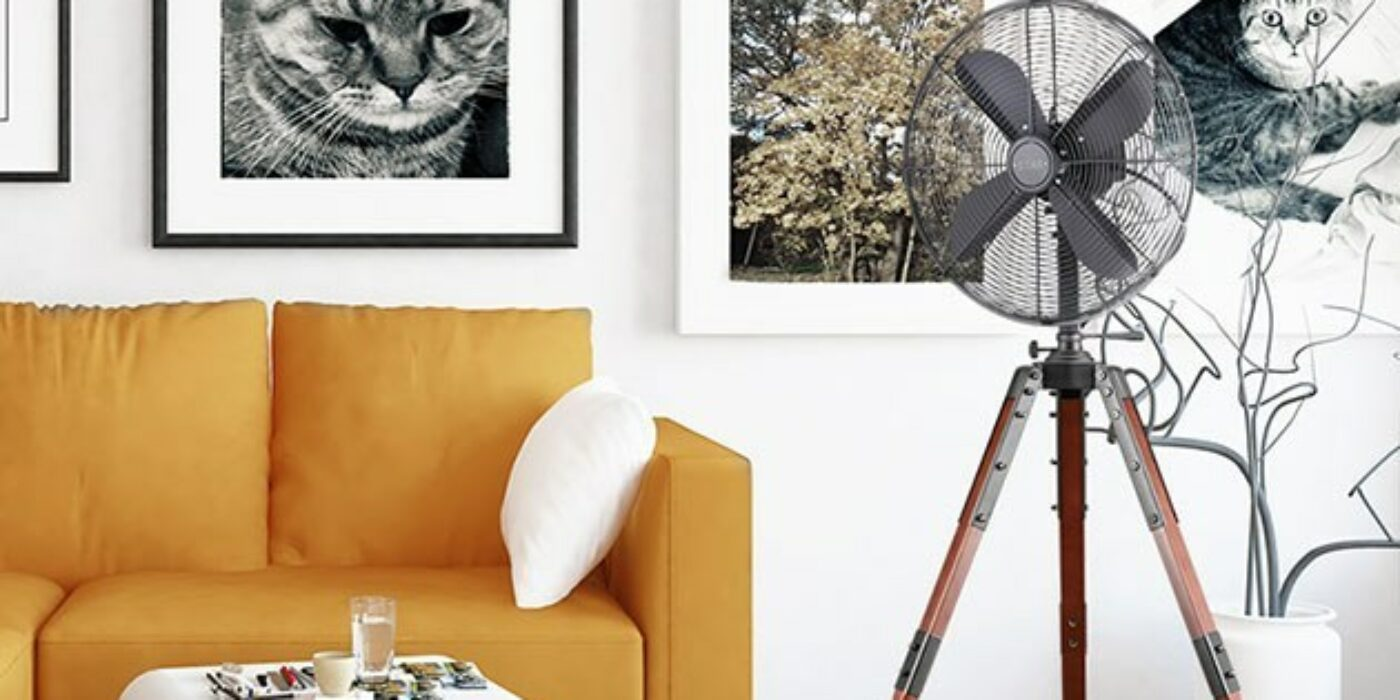 This fan looks amazing in your home and could save you hundreds in AC costs later this year