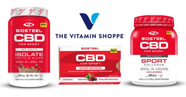 Canopy Development's 'BioSteel CBD For Sports' Line Now Sold At ~ 500 Vitamin Shoppe Locations Across U.S.