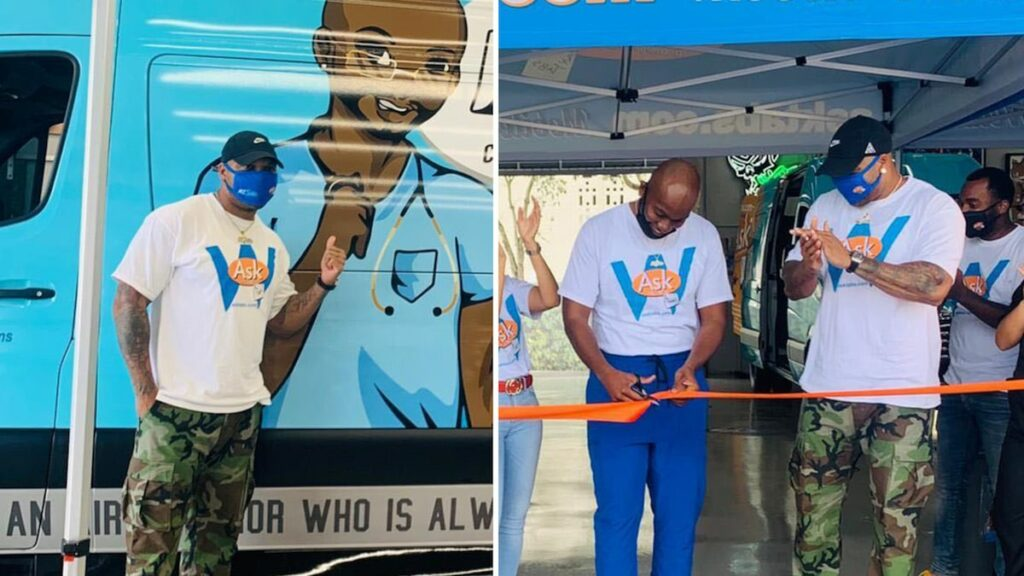 Flo Rida Groups with Doctor to Introduce Mobile COVID-19 Screening Center