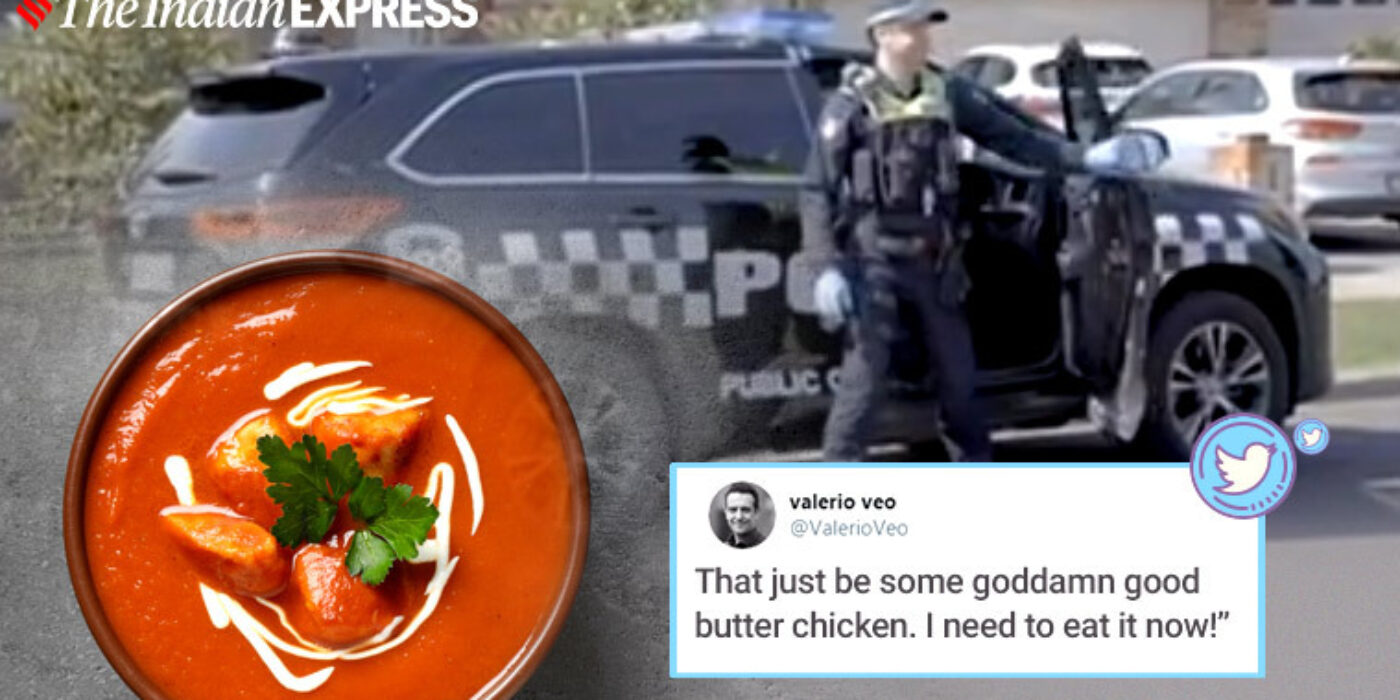 How far can you opt for butter chicken? This is what a Melbourne male did