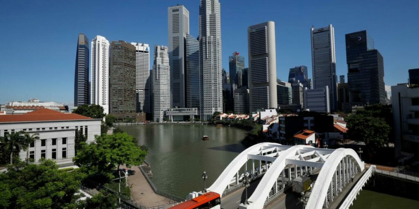 Singapore financial district vulnerable to rising sea levels