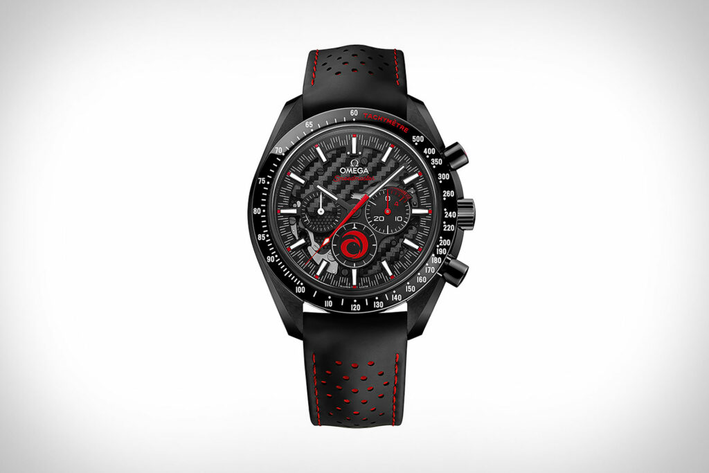 Omega x Alinghi Speedmaster Dark Side of the Moon Watch